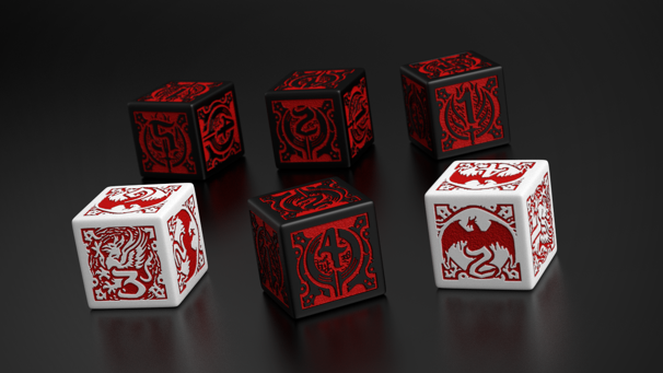 Dragon Age, set dados