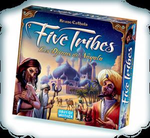 Five Tribes, caja