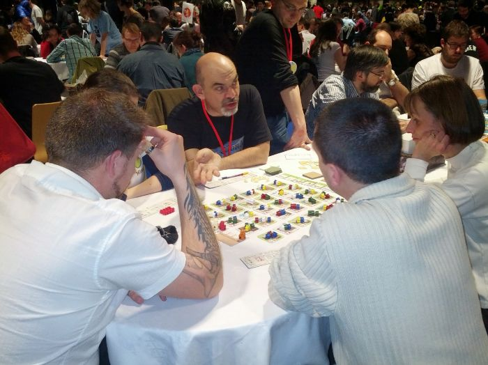 Five Tribes con Bruno Cathala