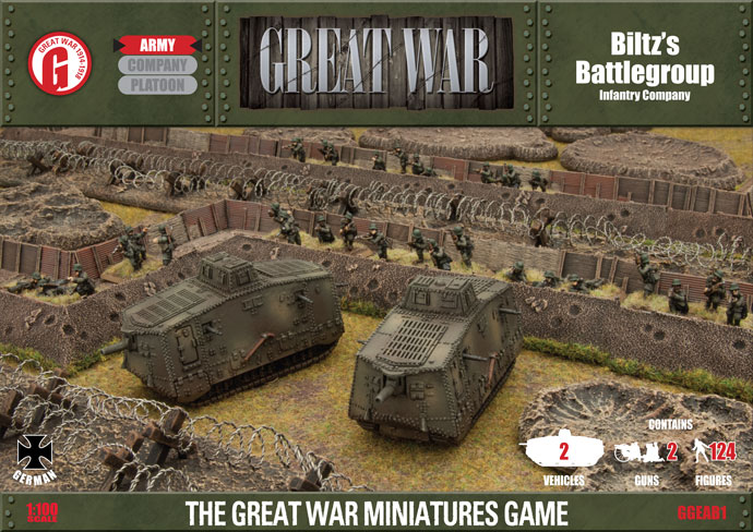 Flames of War, Great War caja Biltz´s Battlegroup