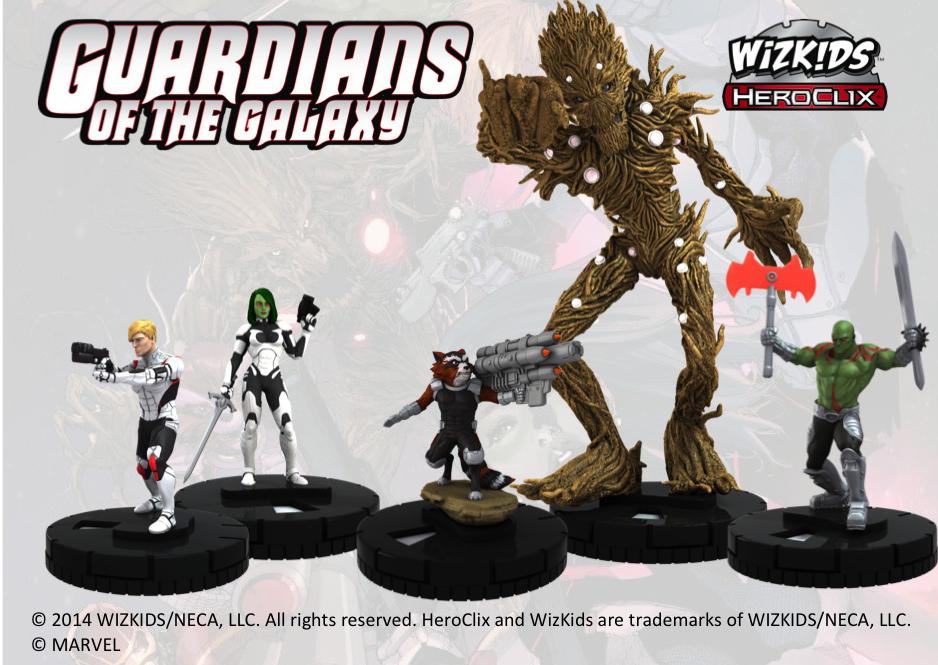 Heroclix, Guardianes de la Galaxia figuras