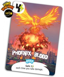 King of New York, carta promocional Phoenix Blood