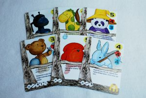 Nightlight, cartas de peluches
