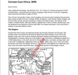 SOTCW WWI, página interior ejemplo