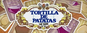Tortilla de patatas, the game logo