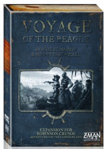Voyage of the Beagle, caja
