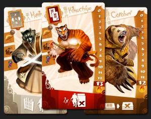 Samurai Spirit, cartas 2