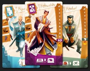 Samurai Spirit, cartas 3
