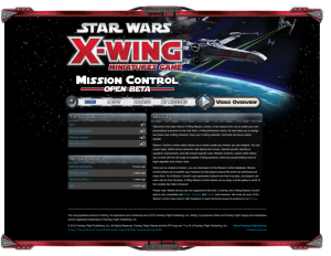 X-Wing Mission Control