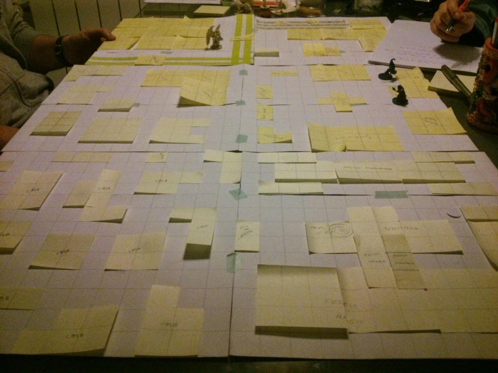 Aventuras en la Marca, prototipo juego2