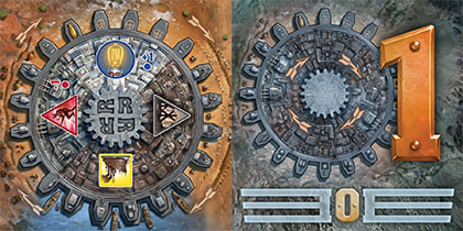 Cartas de Engine y Gears de Empire Engine