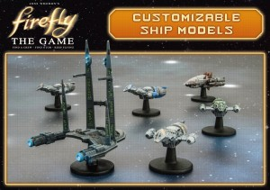 Firefly the Boardgame, pack de naves