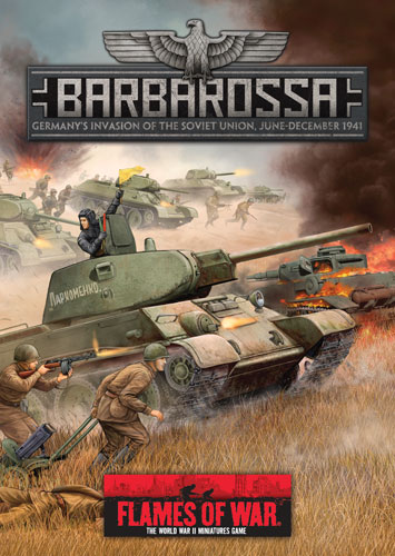 Flames of War, Barbarossa portada