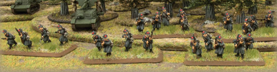 Flames of War, Barbarossa soviéticos