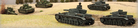 Flames of War, Barbarossa tanques