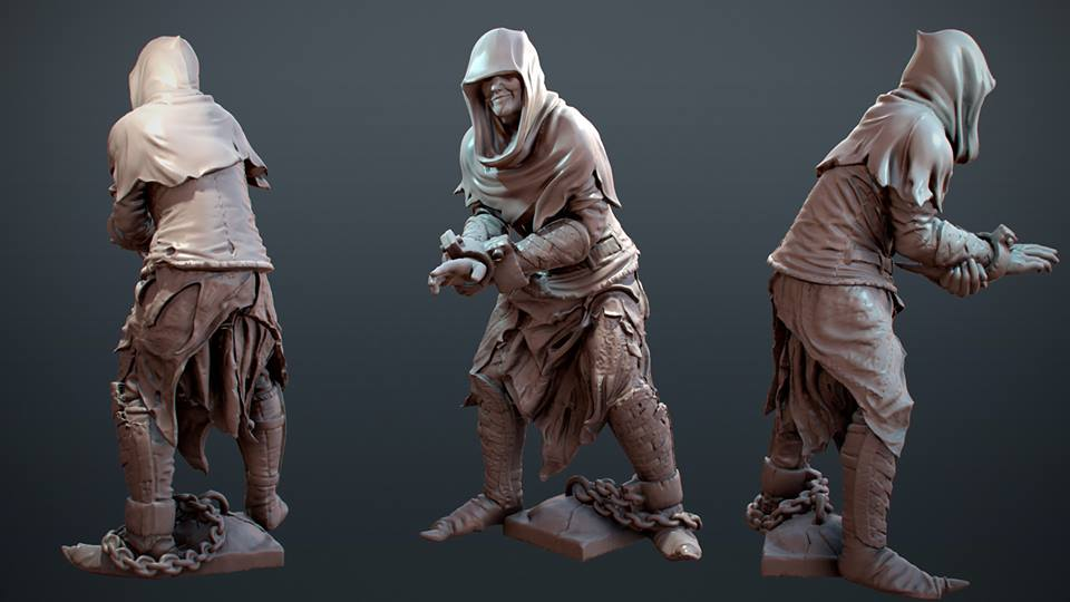 HeroQuest 25th, render Asesino