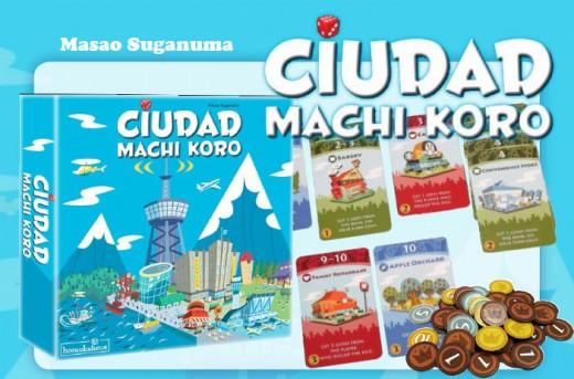 Componentes de la edición española ciudad machi koro