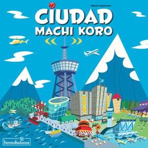 Portada de la edición española de Ciudad Machi Koro