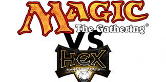 Hex de cryptozoic vs Magic de WotC