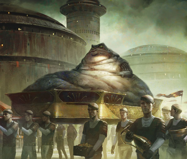 Star Wars, Lords of Nal Hutt art