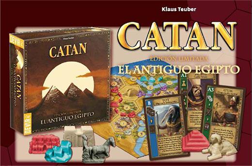 Expansión del antiguo egipto de los colonos de catan