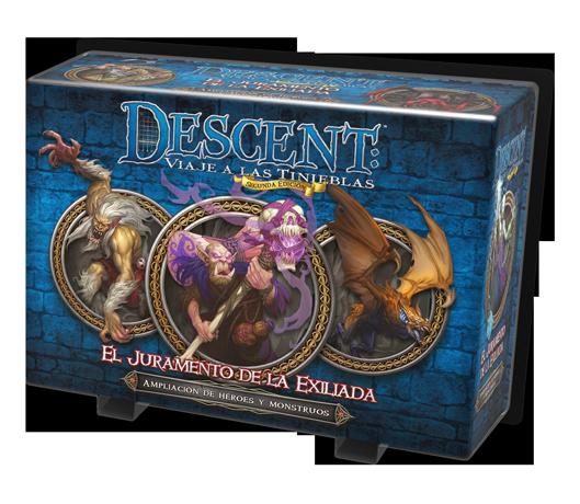 Descent - El juramento de la exiliada caja