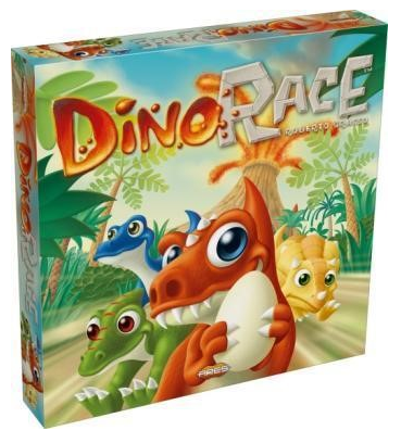 Dino Race, caja Ares Games