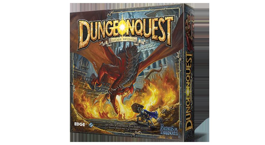 Edge responde a las dudas sobre DungeonQuest Edición revisada