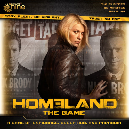 Portada de Homeland the game