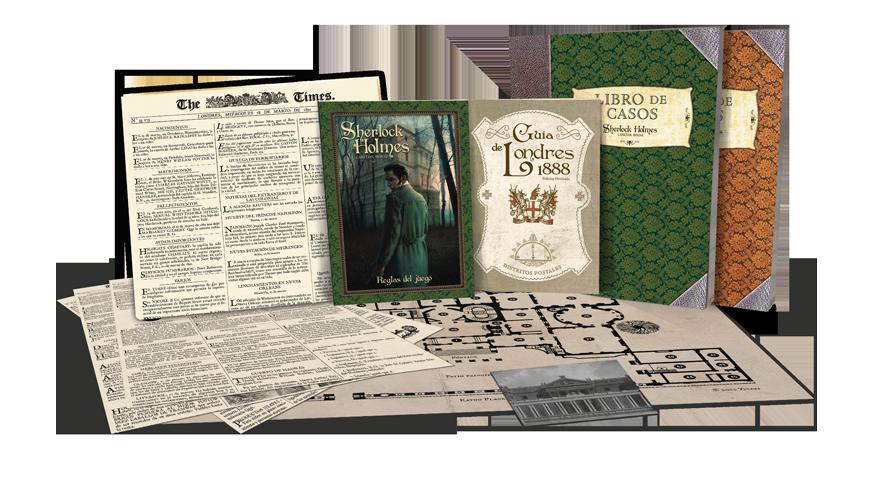 Sherlock Holmes, Misterio de Eaton Place componentes