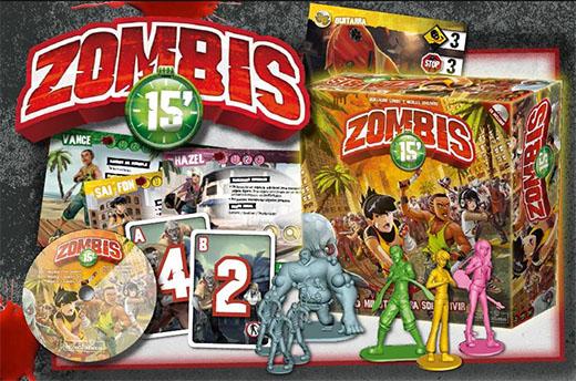 Edición de Devir de Zombis 15