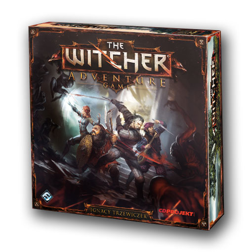 Portada de The Witcher Adventure game