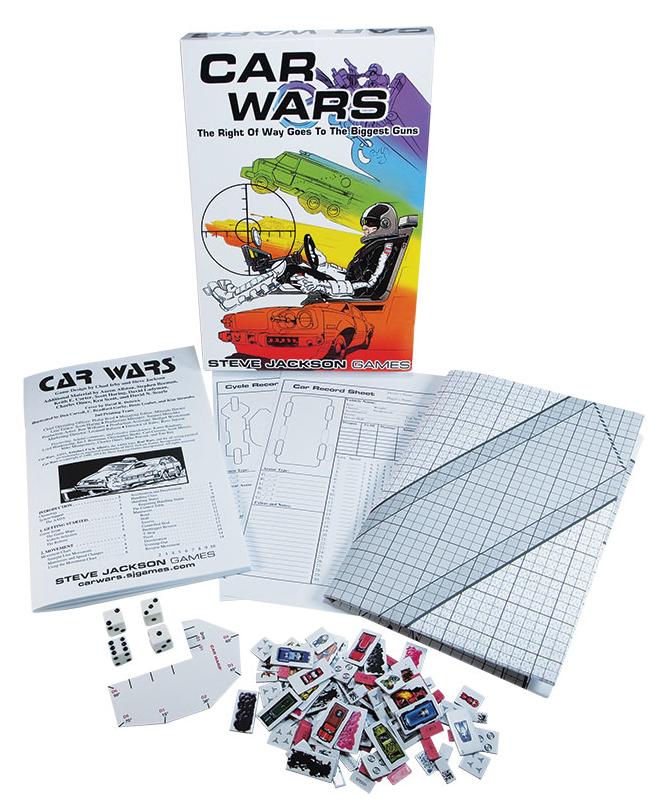 Car Wars, componentes