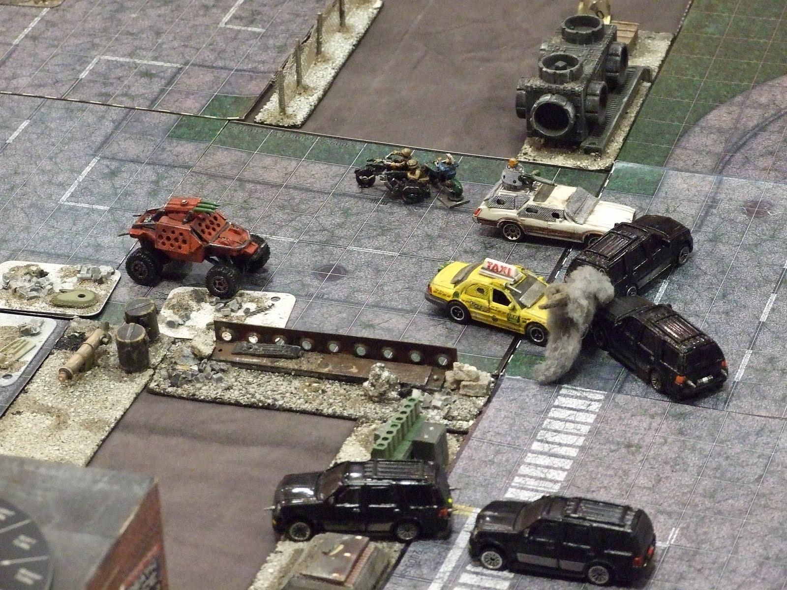 Car Wars, partida