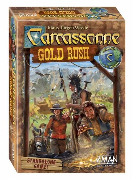 Carcassonne: Gold Rush saldrá a la venta el 10 de diciembre