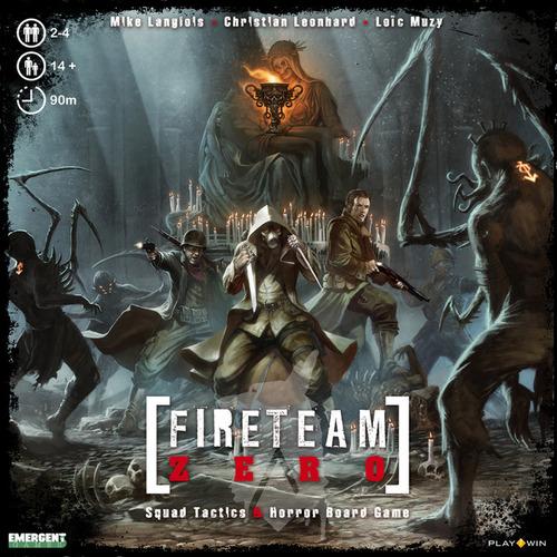 Portada de Fireteam Zero