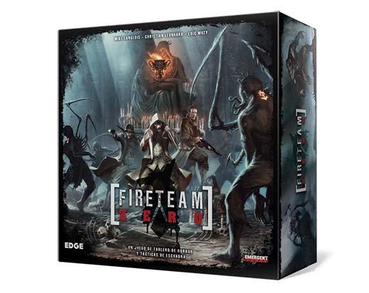 Portada de la edición en castellano de Fireteam zero