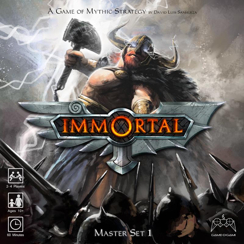 Immortal, portada