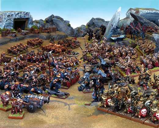 Batalla de Kings of War