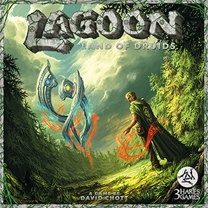 Lagoon, Land of Druid, portada
