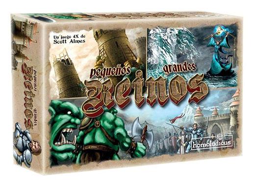 Portada de la edición en español de Pequeños Grandes Reinos