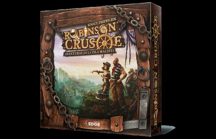 Portada en castellano de Robinson Crusoe