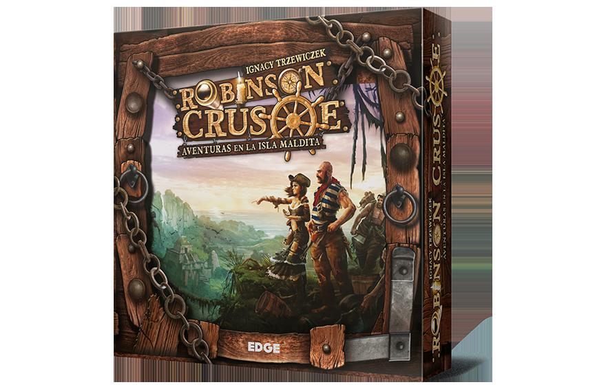 Robinson Crusoe, caja