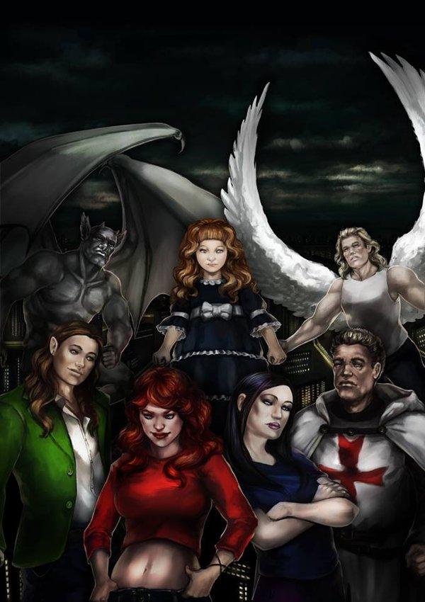 La antología literaria Shadow Hunters: Cruzada secreta busca financiación