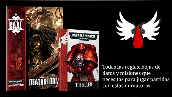 Shield of Baal, Deathstorm, libros