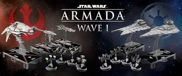Star Wars, Armada, wave 1