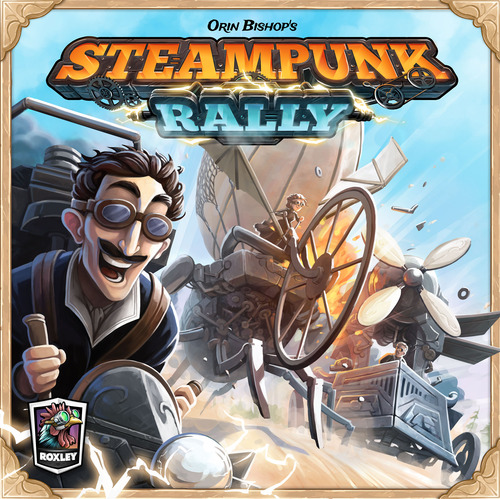 Portada de Steampunk Rally