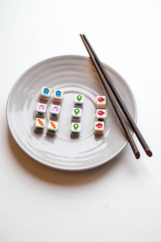 Dados de Sushi Dice