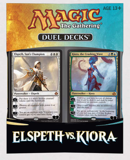 Elspeth Vs Kiora Deck Package