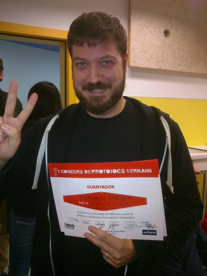 I Concurso de Protojuegos Verkami, ganador